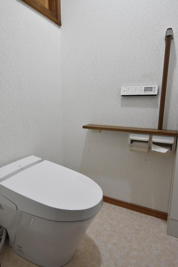 便座がコンパクトになりスッキリトイレ!!