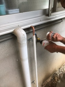 東広島市河内町 F様邸 ガス給湯器取付工事