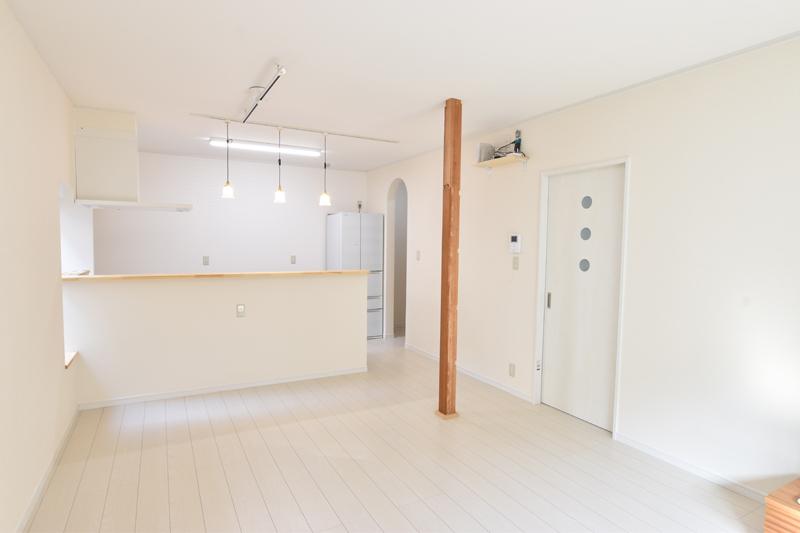 白を基調とした明るいお家へリノベーション!