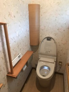 東広島市黒瀬町 U様邸 トイレ取替工事