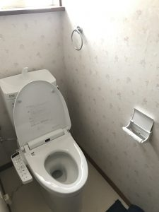 東広島市黒瀬町 M様邸 トイレ工事
