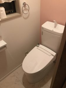 東広島市黒瀬町 K様邸 DKトイレ工事