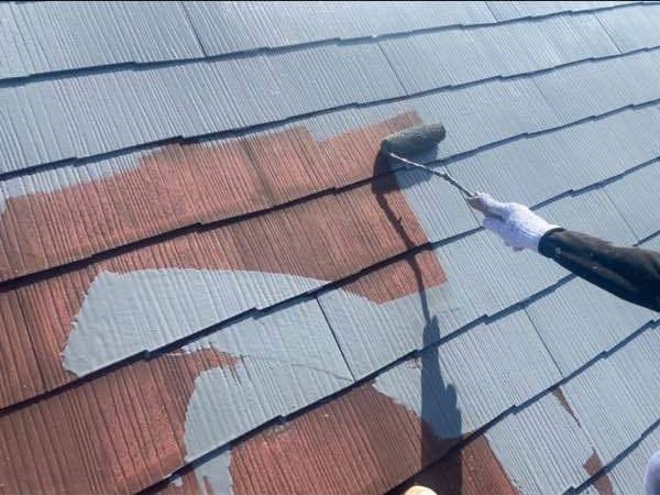 2階建てアパートの屋根外壁をリフレッシュ!屋根外壁塗装工事!
