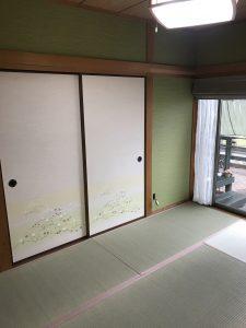 東広島市黒瀬町 O様邸 和室内装工事