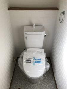 東広島市高屋町 Y作業 IHガス給湯器トイレ工事