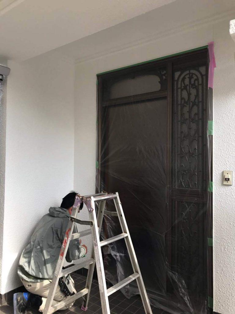 玄関扉の間口を広げて玄関引戸に!玄関リフォーム工事!